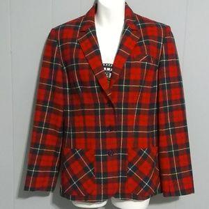 Pendleton 100% Virgen Wool Vintage Blazer